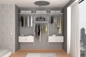 alluminio closet city small