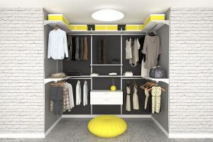 closet style aluminium